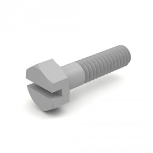 Hex Head Slotted Cap Screws