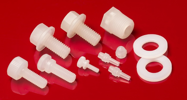 PVDF Fasteners and Custom Parts