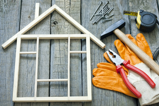 plastic material in home building